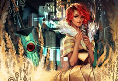 Transistor - Past, Present, Future, All Become One by lucidsky on deviantART