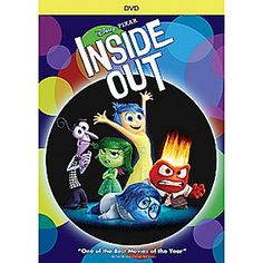 Disney•Pixar Inside Out DVD | Disney StoreDisney%u2022Pixar Inside Out DVD - From Academy Award-winning director Pete Docter comes Disney%u2022Pixar <i>Inside Out</i>, the heart warming, and hysterical, story of Riley, the 11-year-old girl who is guided by the different emotions in her head.