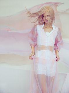 Kasia Struss for Harper's Bazaar UK by Erik Madigan Heck