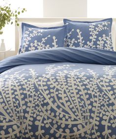 Look at this Blue Branches Duvet Cover Set on #zulily today!