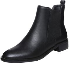 ELEHOT Womens Elelook? 3.5CM low-heel Boots * This is an Amazon Affiliate link. Want to know more, click on the image.