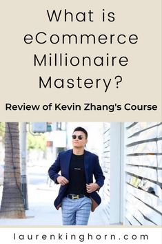 eCommerce Millionaire Mastery by Kevin Zhang is an online course consisting of 15 modules and 180+ videos that teaches you how to build an eCommerce empire. Here's our comprehensive review. #eCommerceMillionaireMastery #branded #niche #ecommerce #dropshippingbusiness #onlinecourse #review
