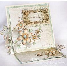 Gallery | Sunny Vintage Easel Card - Heartfelt Creations