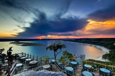 Lake Travis - Austin, Texas - As seen from the Oasis Restaurant