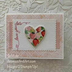 Valentine Love Cards, Heart Cards, Card Kit, Greeting Cards Handmade, Anniversary Cards, Homemade Cards, Stampin Up Cards, Making Ideas, Cardmaking