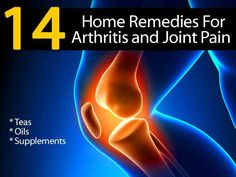 Home Remedies for Arthritis and Joint pain or any chronic pain condition 1. Turmeric & Ginger Tea 2. Epsom salt soak 3. Getting more magnesium 4. Lubricate With Extra Virgin Olive Oil 5. Dandelion Leaves 6. Blackstrap Molasses Drink 7. White Willow Tea 8. Exercise 9. Peppermint Eucalyptus Oil Blend 10. Juniper Berry Tea 11. Golden Raisins & Gin 12. Bosweilla supplements 13. Pectin & Grape Juice 14. Cayenne 'Capsaicin' Ointment
