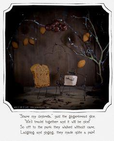 http://lechatdesucre.com/blog  marshmallows and gingerbread under a rain of chocolate