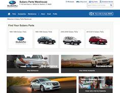 Subaru parts - WooCommerce Beautiful Sites, Car Shop, Subaru