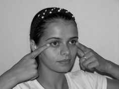 Wipe Out Eye Bags And Dark Circles With Simple, Painless Facial Exercises