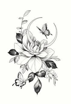 Spine Tattoos, Dope Tattoos, Pretty Tattoos, Beautiful Tattoos, Body Art Tattoos, Small Tattoos, Tatoos, Flower Tattoo Drawings, Tattoo Design Drawings