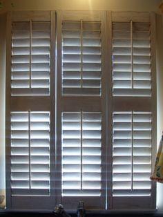 *shutters on kitchen window
