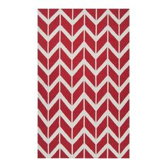 Ginevra Rug in Red