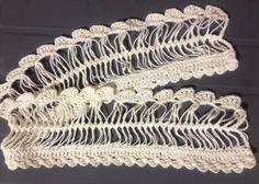 Tutorial: Hairpin Crochet Edging