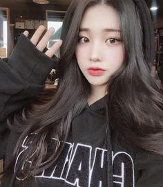 Korean Beauty Girls, Pretty Korean Girls, Cute Korean Girl, Cute Asian Girls, Beautiful Asian Girls, Asian Beauty, Cute Girls, Asian Cute, Uzzlang Girl