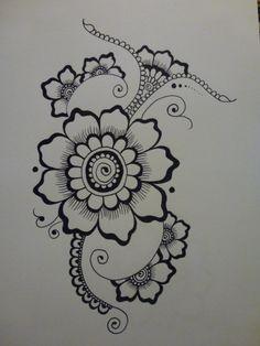 black felt tip pen, size A4