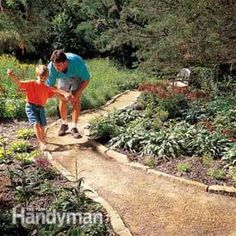 Planning a Backyard Path: Gravel Paths - Step by Step: The Family Handyman