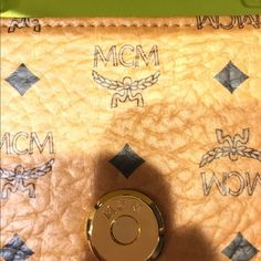Additional pics of Authentic MCM crossbody clutch Additional pictures of AUTHENTIC MCM crossbody clutch to show authenticity. MCM Bags Crossbody Bags