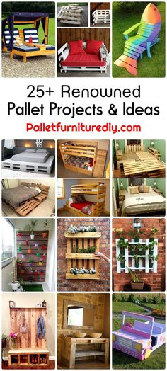 25-Renowned-Pallet-Projects-Ideas.jpg (720×1600)