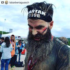 Thanks for sharing! ¡Gracias por compartirlo! #Repost @labarberiaguasch ・・・ Este fin de semana acabo nuestro @mserra11 con una medalla y con mucho barro. Una experiencia magnifica con @spartanrace . En estos momento,sí necesita una buena hidratación con los productos 100% naturales de @sweynforkbeard . #spartan2016 #cuidados #autentico  #barberiaguasch #beardlife #soapbeard #balsambeard #viulexperiencia @beard4all #granollers #barcelona #barbering