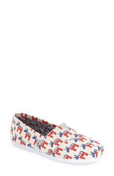 Free shipping and returns on TOMS 'Donkey/Elephant' Slip-On (Women) at Nordstrom.com. Step out on election day in style with…