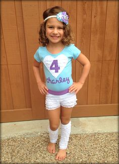 Look at my little model-Frozen Inspired Gymnastics Birthday Outfit by Xannazoo on Etsy Frozen Birthday Outfit, Dance Party Birthday, Gymnastics Birthday, Frozen Birthday Party, 6th Birthday Parties, 7th Birthday, Birthday Ideas, Aaliyah Birthday, Pumpkin Outfit