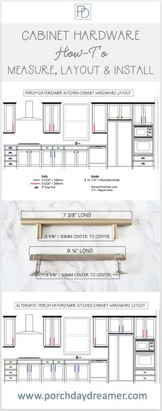 Remodeling or updating your kitchen and confused about choosing new cabinet hardware knobs and pulls? Here is your simple guide! or updating your kitchen and confused about choosing new cabinet hardware knobs and pulls? Here is your simple guide! Bath Cabinets, New Kitchen Cabinets, Built In Cabinets, Custom Cabinets, Kitchen And Bath, Kitchen Sinks, Knobs For Kitchen Cabinets, Kitchen Knobs And Pulls, Taupe Kitchen