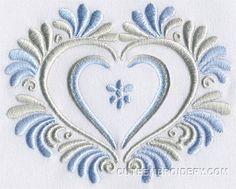 Free Embroidery Design: Valentine