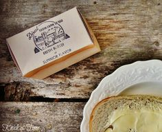 Knick of Time: Get the Look {Printable Antique Butter Box}