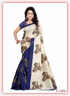 Presenting you ethnic and traditional Bollywood saree. This sari can be used in casual, party and wedding ceremony to look attractive. Sale For: 1 Sari with Unstitched Blouse Fabric. We Do not provide any stitching service for blouse or the fall. Crepe Silk Sarees, Indian Silk Sarees, Art Silk Sarees, Silk Sarees Online, Indian Beauty Saree, Traditional Silk Saree, Traditional Outfits, Traditional Art, Silk Sarees With Price