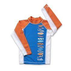 Boy's Long Sleeve Sun & Swim Shirt | UPF 50+