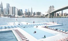+Pool, A Floating Pool For NYC's East River, Plans A 2015 Opening