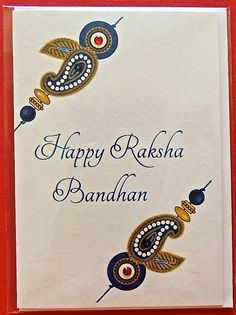 9 best raksha bandhan greeting card images on pinterest raksha printed onto quality textured card and hand finished available at pumiandjeeti pumi jeeti raksha bandhan greeting card m4hsunfo