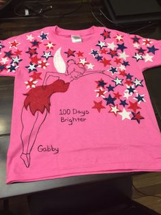 100 day flower shirt