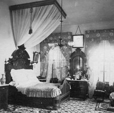 """Bedroom 1870's"" by liz"