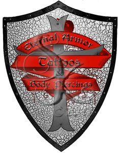 Eternal Armor Tattoos Crest Logo by DeathShiva.deviantart.com on @deviantART
