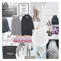 """""""i was told i'm not in control"""" by feels-like-snow-in-september ❤ liked on Polyvore featuring Chanel, Assouline Publishing, MM6 Maison Margiela, Monki, TalisLittleTag, gottatagrandomn3ss and DestinyHasBeenSummoned"""