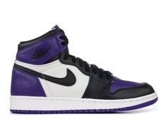 wholesale dealer 954db a9967 Air Jordan 1 Retro High OG GS Court Purple