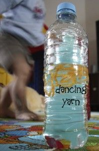 DIY Discovery Bottle Dancing Yarn