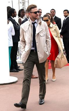 thefashionbomb:  Justin Timberlake looking 50 Shades of Fine in Cannes