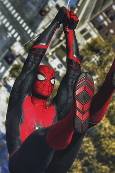Even there's so many suits available on insomniac marvel spiderman game but everyone's shold agree if the classic red and blue suit spiderma. Marvel Comic Universe, Marvel Comics, Marvel Memes, Marvel Avengers, Funny Avengers, Spiderman Suits, Spiderman Spider, Amazing Spiderman, Marvel Films