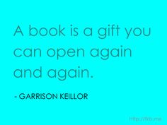 Another great quote about books and reading. (http://fkb.me)