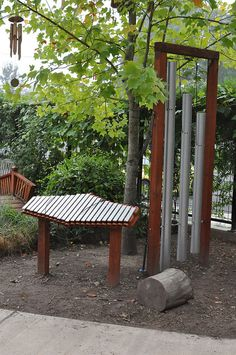Outdoor Music at Pacific Early Childhood Center by timlauer, via Flickr