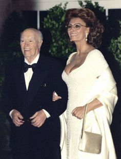 Carlo Ponti and Sophia Loren were married twice and together for a total of 57 years until his death - September 17, 1957 - 1962 annulment April 9, 1966 - January 10, 2007