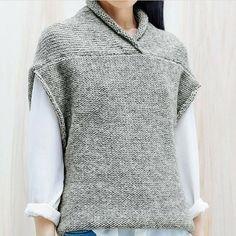 Blusa De Aulas Gratuitas, Modelos E Crochet - Diy Crafts - - Diy Crafts Knit Vest Pattern, Sweater Knitting Patterns, Knitting Designs, Knitting Ideas, Pullover Mode, Pullover Sweaters, Knit Fashion, Sweater Fashion, Pull Crochet