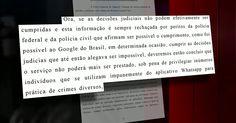 WhatsApp: Justiça do RJ manda bloquear aplicativo em todo o Brasil