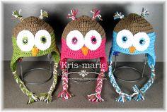 The Crafting Secretary: Crochet Owl Hats - Free Pattern