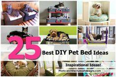 25 Best DIY Pet Bed Ideas