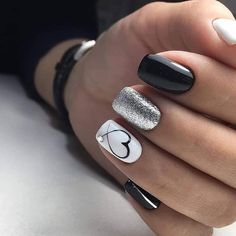 nails one color gel / nails one color ; nails one color simple ; nails one color acrylic ; nails one color summer ; nails one color winter ; nails one color short ; nails one color gel ; nails one color matte Love Nails, How To Do Nails, Fun Nails, Glitter Nails, Pretty Gel Nails, Stiletto Nails, Chellac Nails, White Shellac Nails, Gel Toe Nails