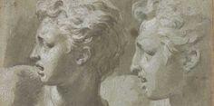 notizie  G.M.  guido michi: Parmigianino, Due teste di profilo, Firenze, Gabin...