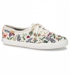 Embroidered Herb Garden  Rifle Paper Co. × Keds® Collection
